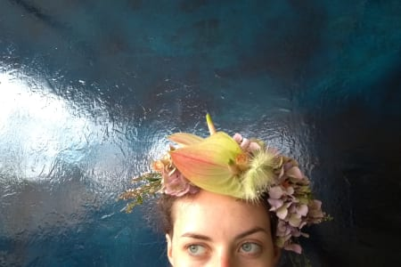 Bespoke Floral Crown Workshop with Complementary Drink