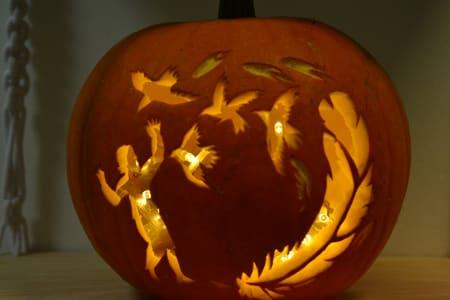 Carve Your Own Pumpkin Masterpiece