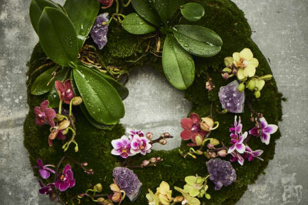 Private Class: Make a Moss Wreath