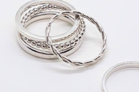 Silver Stacking Ring Making Class