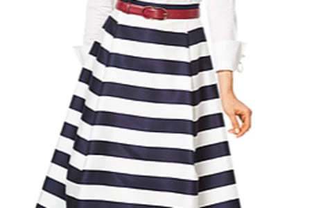 Sew a fully lined skirt with waistband - Bring your own fabrics!