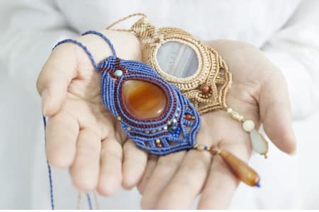 Macrame Jewellery Workshop for Beginners
