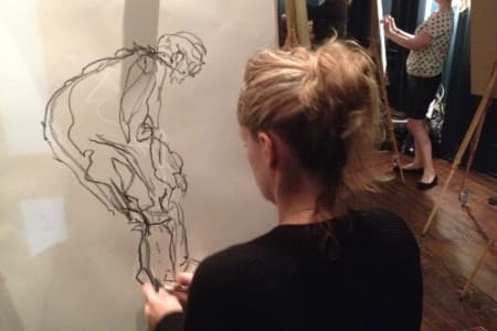 Life Drawing @ Tileyard London