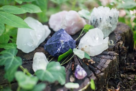 Learn how to use crystals for self-healing