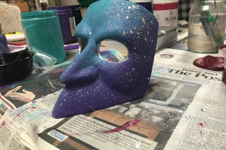 Mask Making and Decorating Workshops at Obby East Village