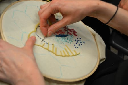 Designing with Hand Embroidery