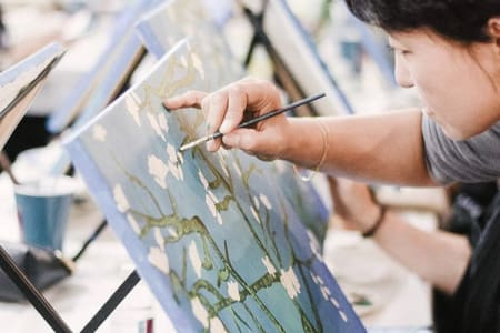 Van Gogh Inspired Painting Workshop