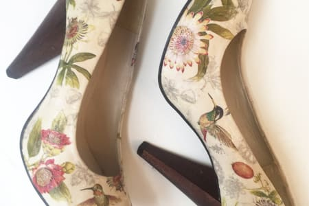 Shoe Decoupage Workshop