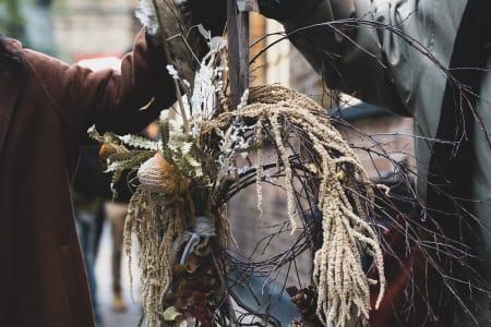 Festive Winter Wreath Workshop