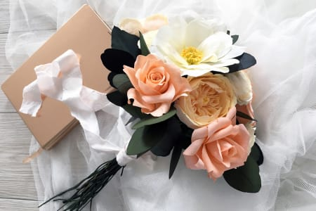 Make your own Paper Bouquet