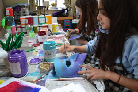 School Holiday Workshop: Paint your Venetian Mask