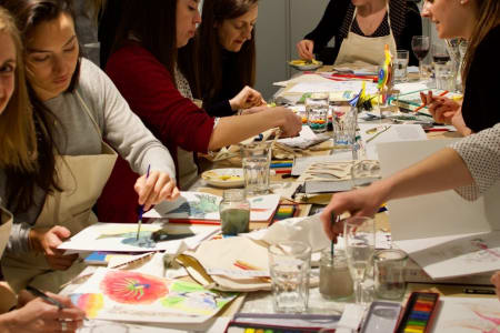 Creative Supper Club - Art, Food and Wine