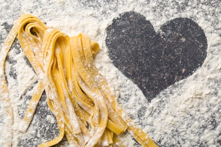 ♥Food & Love: Valentine`s Day Pasta making masterclass FOR TWO♥