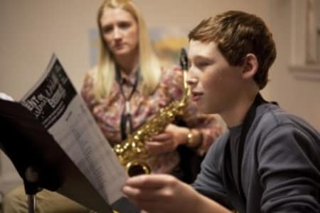 Saxophone Winter Camp for Kids