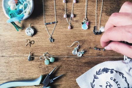 Beginners Jewellery Making Craft Workshop