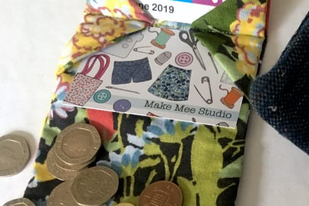 Sew Your Own Wallet/Card Holder Workshop