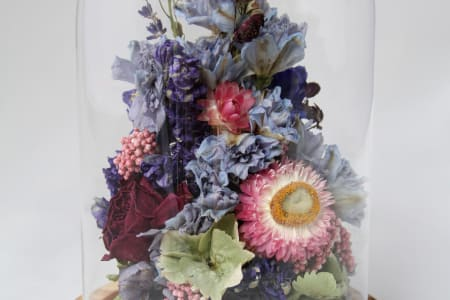 Dried Flower Workshop: Make a Bouquet, Wreath or Cloche Dome