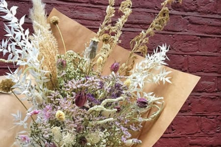Dried Flower Workshop: How to use everlasting, eco blooms and make your own dried flowers