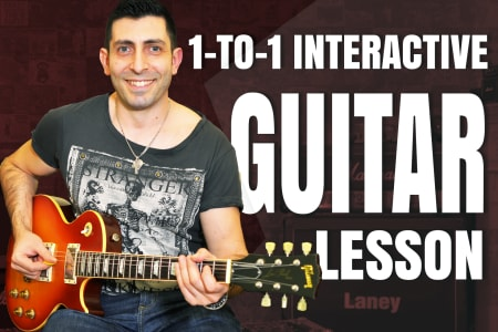All Level Interactive Guitar Lessons