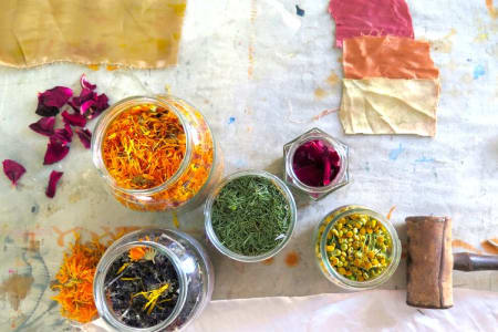 Introduction to Bundle Dyeing with Natural Dyes