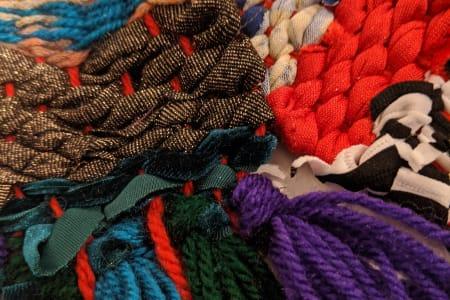 Scrap Fabric Weaving