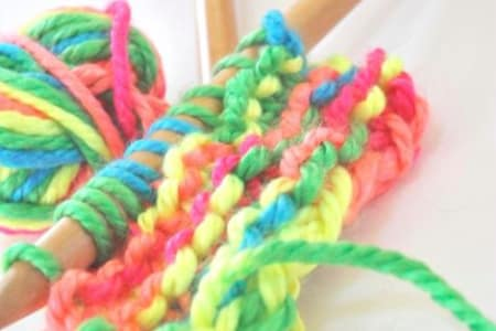 Summer Craft Workshops for Kids - BEGINNERS KNITTING