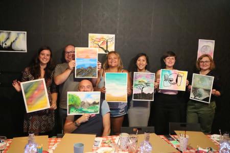 Painting class - Watercolour and Gouache Paints