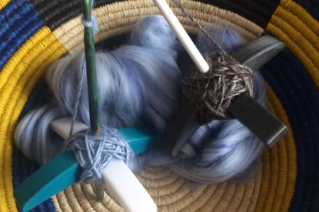 3D Printed Turkish Drop Spindle Workshop- Learn the mindful Craft of Spinning your own Yarn
