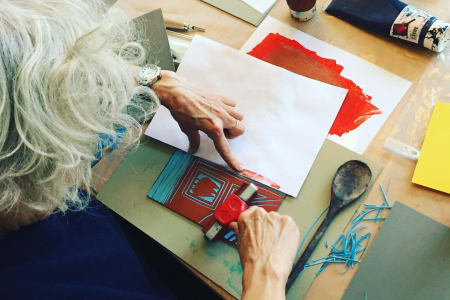 Lino-Printing Workshop