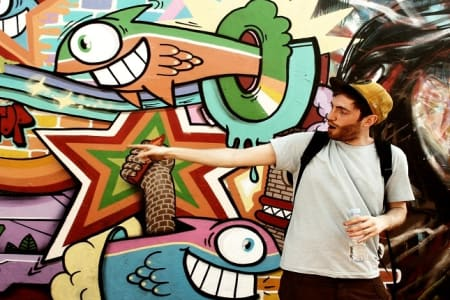 Graffiti Workshop with Street Art Tour: Taster Session