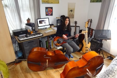 Advanced Bass Guitar Lessons with Nim Sadot