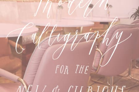 Modern Calligraphy with Alice Gabb