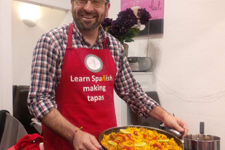 Paella in Spanish