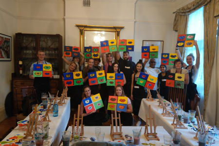 Paint Night and Cocktails! at Obby East Village