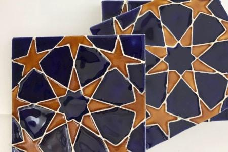 Glaze your own Moroccan Ceramic Tiles Workshop