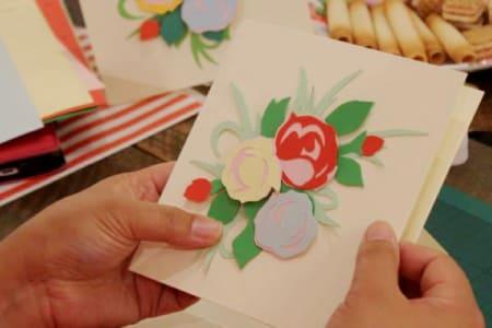 Paper Cutting Art Class