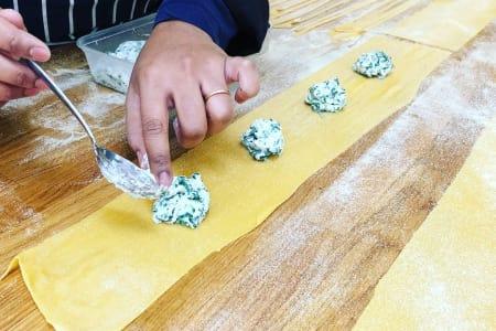 Pasta making - Tagliatelle & Ravioli