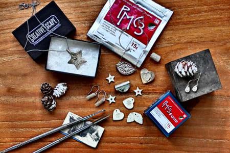Silver Christmas Charms