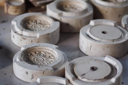 Mould making and slip- casting