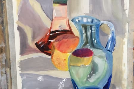 Oils Painting and Drawing Course for Beginners