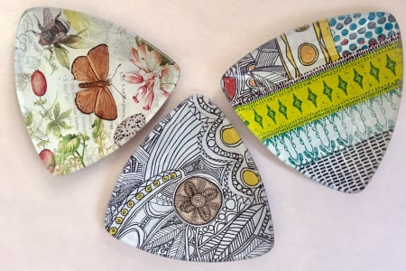 Glass Decoupage Workshop: Upcycle a Plate