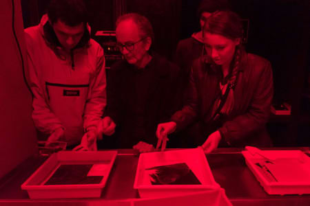 Private black & white darkroom printing workshop