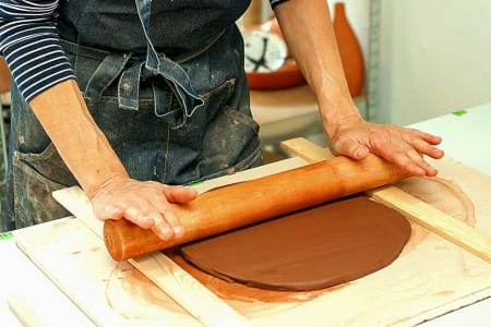 Terracotta Tile Making