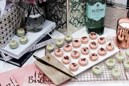 Macarons & Martinis at Obby East Village