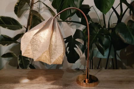 Make Paper Origami Lampshade