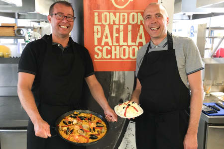 Seafood Paella Cooking Class: Hoxton