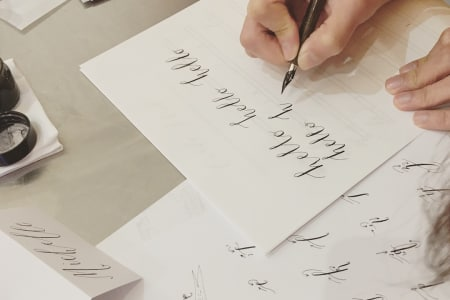 Practice Makes Perfect Calligraphy Club