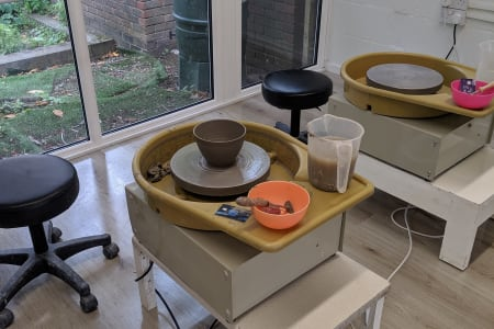 Five Week Pottery Course for Beginners.