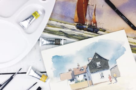 William Newton Watercolour Art Lessons