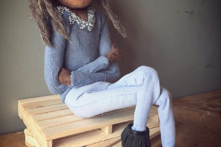 5 Day Stop-Motion Animation Wool/Felt Advanced Puppet Building Workshop with Pro Armature